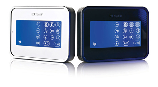 Wire free touch screen keypad